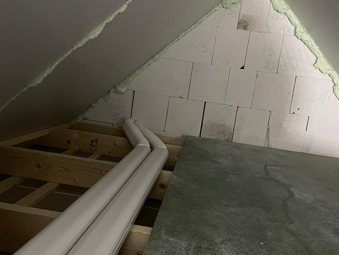 Airconditioning leidingen